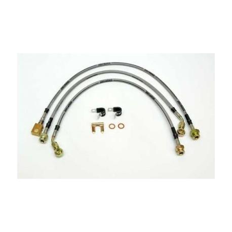 Bremseslangesæt rustfri stål 87-95