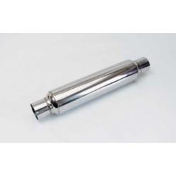 "Glasspack 2.25"" rustfri stål"
