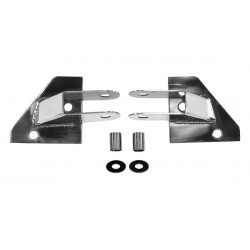 Mirror relocation bracket