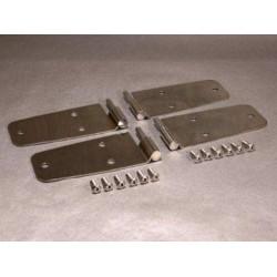 Dørhængsler rustfri CJ/YJ 76-95