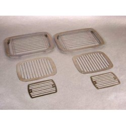 For/baglygte cover, glat, YJ 87 - 95